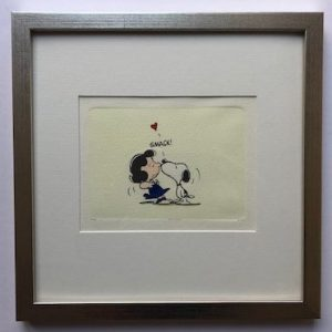 Charles M Schulz Schmack gerahmt Kunsthandel Koenen Bocholt 2021 300x300 - Die Peanuts kommen - mit Charles M. Schulz in unserem Shop