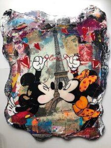 Tanja Kieselwalter Paris Love Kunsthandel Koenen Bocholt 225x300 - Neu bei uns: Tanja Kiesewalter mit Crazy Clouds