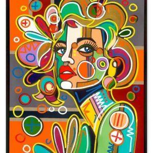 DTE0004 DavidTollmann 2021 23 mitRahmen BlondeAmbition 1200 900 Kunsthandel Koenen Bocholt 300x300 - Neu Bei uns: David Tollmann